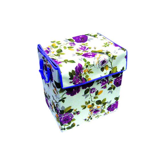 Caja forrada en tnt con tapa juguetr a plastolit - Caja plastico con tapa ...