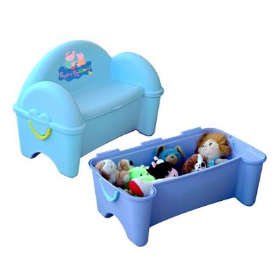Banco baul pl stico para guardar juguetes juguetr a - Baul para guardar juguetes ninos ...